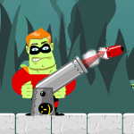 Free online flash games - Cannon Hero game - WowEscape
