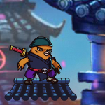 Free online flash games - Chicken Ninjia game - WowEscape