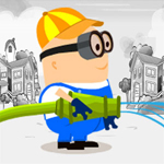 Free online flash games - Color The Town game - WowEscape