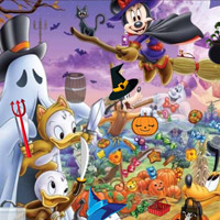 Free online flash games - Disney Halloween Objects game - WowEscape