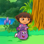 Free online flash games - Dora Item Catch game - WowEscape