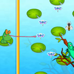 Free online flash games - Froggy Grabby-3 game - WowEscape