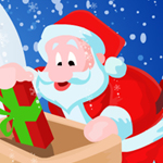 Free online flash games - Funny Santa Gift Serves game - WowEscape