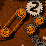 Free online flash games - Gears And Chains Spin It 2 game - WowEscape