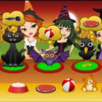 Free online flash games - Halloween Pet Care game - WowEscape