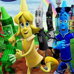 Free online flash games - The Hero of Color City Hidden Objects game - WowEscape