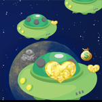Free online flash games - Lover in Universe game - WowEscape