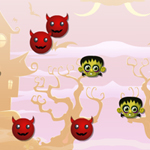 Free online flash games - Pinka Swing Out The Zombies game - WowEscape