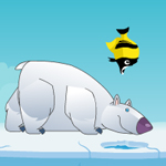 Free online flash games - Polar Bear Fishing game - WowEscape