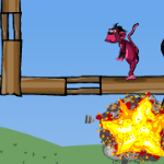 Free online flash games - Shoot The Monkey game - WowEscape