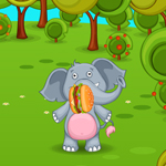 Free online flash games - Smiley Hamburger Food Fight game - WowEscape