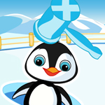 Free online flash games - South Pole Penguin Slaps game - WowEscape