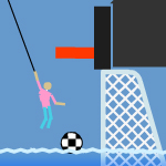 Free online flash games - Swing Soccer game - WowEscape