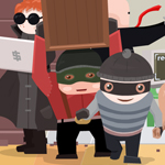 Free online flash games - Team of Robbers game - WowEscape