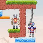 Free online flash games - TNT Robots game - WowEscape