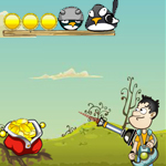 Free online flash games - Tommy vs Birds game - WowEscape