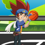 Free online flash games - Beyblade Basketball game - WowEscape