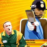 Free online flash games - Cricket On Cards game - WowEscape