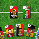 Free online flash games - Sports Heads Cards Soccer Squad Swap game - WowEscape