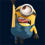 Free online flash games - Minions Steal Moon game - WowEscape