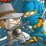 Free online flash games - Ninja Mafia War game - WowEscape