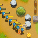 Free online flash games - Penguins Attack 4 game - WowEscape