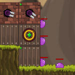 Free online flash games - Slime Defender game - WowEscape