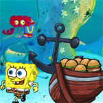 Free online flash games - Spongebob Hamburger Love game - WowEscape