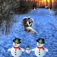 Free online flash games - AngelEscape Winter Escape game - WowEscape