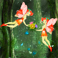 Free online flash games - Big Christmas Fairyland Escape game - WowEscape