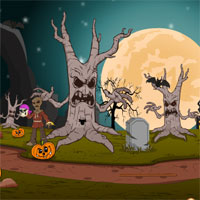 Free online flash games - Top10 Escape from Dark Forests game - WowEscape