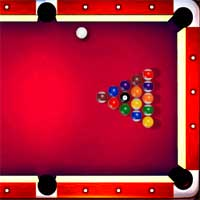 Free online flash games - Lucky Cue 8 Ball Billiard game - WowEscape