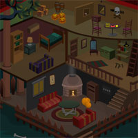 Free online flash games - Halloween Doll House Escape game - WowEscape