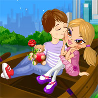 Free online html5 games - Central Park Kiss game