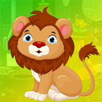 Free online flash games - G4K Complacent Lion Escape