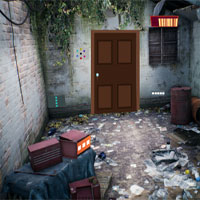 Free online flash games - GFG Inside Abandoned Room Escape 2