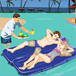 Free online flash games - Honeymoon In Paradise game - WowEscape