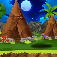 Free online flash games - G2J Hippo Calf Escape