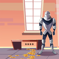 Free online flash games - Castle With Knight Guards Escape