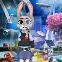 Free online flash games - Zootopia Police Investigation game - WowEscape
