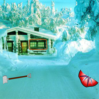 Free online flash games - Big Winter Christmas Forest