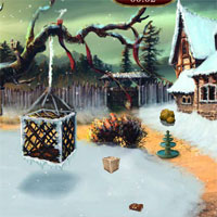 Free online flash games - Ena  The Frozen Sleigh-The Protector House Escape game - WowEscape