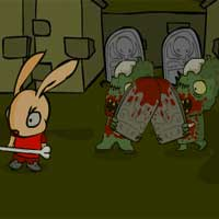 Free online html5 games - Zombies Attack Again game