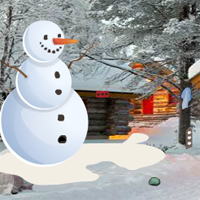Free online flash games - GFG Winter Cabin Christmas Celebration Escape
