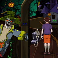 Free online flash games - Halloween Tough Path Ahead game - WowEscape