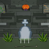 Free online flash games - Games4Escape Halloween Cemetery Escape game - WowEscape