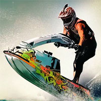 Free online flash games - Jet Ski Wave Rush game - WowEscape