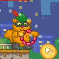 Free online flash games - Robin Cat game - WowEscape