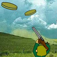 Free online flash games - Clay Pigeon Hunter game - WowEscape
