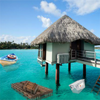 Free online flash games - 5nGames Beautiful Island Resort Escape game - WowEscape